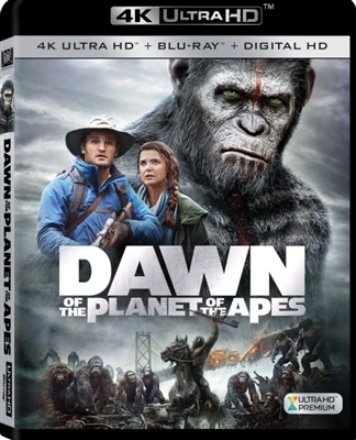 Dawn of the Planet of the Apes 4K UHD Blu-ray (Rental)
