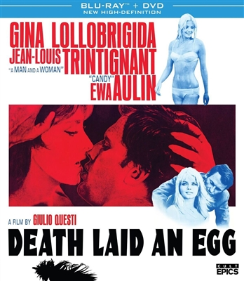 Death Laid an Egg 10/17 Blu-ray (Rental)