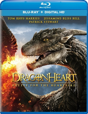 Dragonheart: Battle for the Heartfire Blu-ray (Rental)