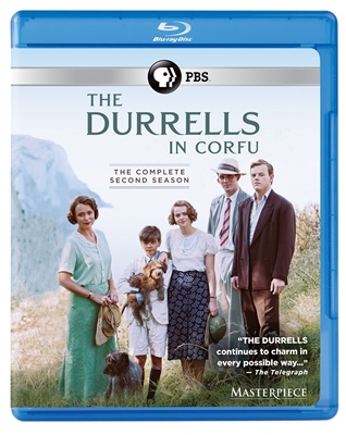 Durrells in Corfu Season 2 Disc 1 Blu-ray (Rental)