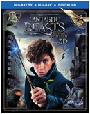 Fantastic Beasts and Where to Find Them 3D Blu-ray (Rental)