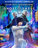 Ghost in the Shell 3D Blu-ray (Rental)