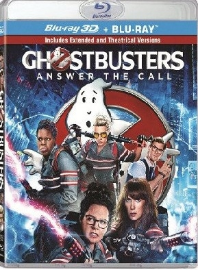 Ghostbusters - Answer the Call (2016) 3D Blu-ray (Rental)