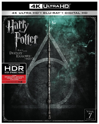 Harry Potter and the Deathly Hallows: Part 2 4K UHD Blu-ray (Rental)