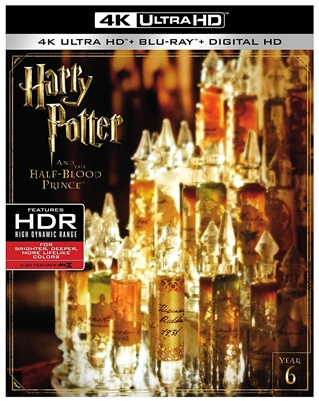 Harry Potter and the Half-Blood Prince 4K UHD Blu-ray (Rental)