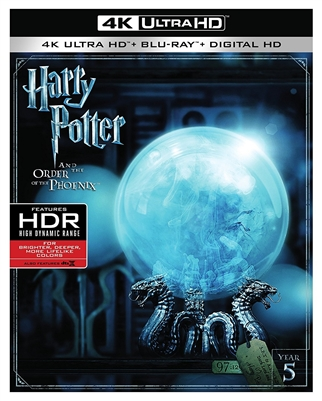 Harry Potter and the Order of the Phoenix 4K UHD Blu-ray (Rental)