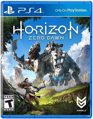 Horizon Zero Dawn PS4 Blu-ray (Rental)
