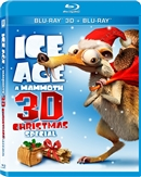 Ice Age: A Mammoth Christmas Special 3D 11/16 Blu-ray (Rental)