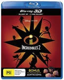 Incredibles 2 3D Blu-ray (Rental)