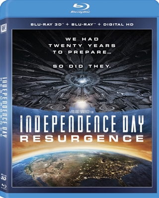 Independence Day: Resurgence 3D Blu-ray (Rental)