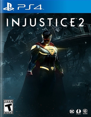 Injustice 2 PS4 Blu-ray (Rental)