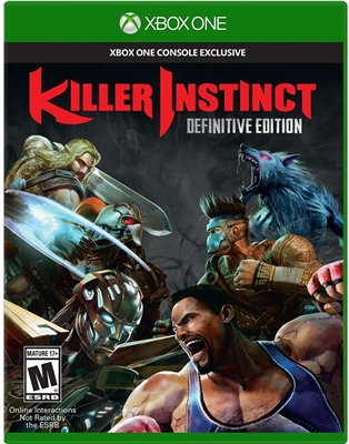 Killer Instinct: Definitive Edition Xbox One Blu-ray (Rental)