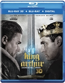 King Arthur: Legend of the Sword 3D Blu-ray (Rental)