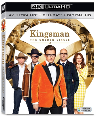 Kingsman: The Golden Circle 4K UHD Blu-ray (Rental)
