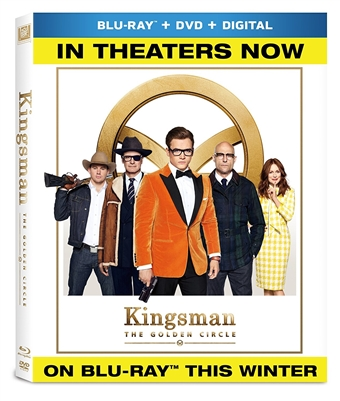 Kingsman: The Golden Circle 11/17 Blu-ray (Rental)
