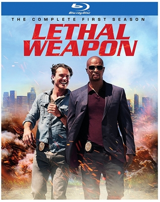 Lethal Weapon Season 1 Disc 3 Blu-ray (Rental)