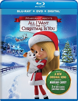 Mariah Carey's All I Want for Christmas Is You Blu-ray (Rental)