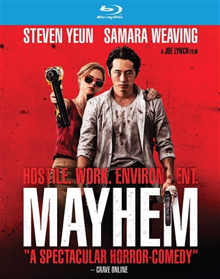 Mayhem 11/17 Blu-ray (Rental)