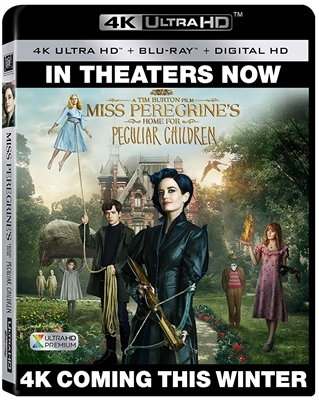 Miss Peregrine's Home for Peculiar Children 4K UHD Blu-ray (Rental)