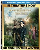 Miss Peregrine's Home for Peculiar Children 3D Blu-ray (Rental)