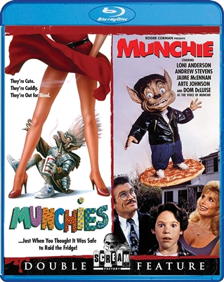 (Releases 2018/11/27) Munchies / Munchie Double Feature 10/18 Blu-ray (Rental)