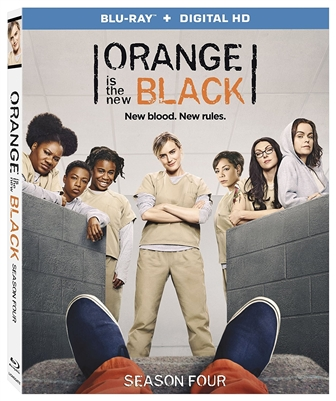 Orange Is the New Black Season 4 Disc 1 Blu-ray (Rental)