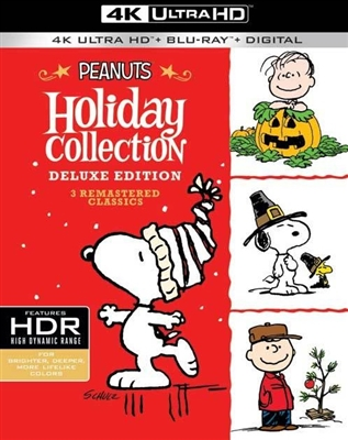 Peanuts Holiday Collection - Charlie Brown Christmas 4K Blu-ray (Rental)