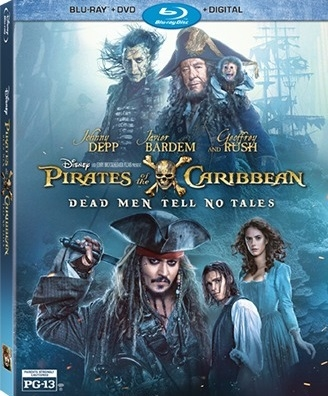 Pirates of the Caribbean: Dead Men Tell No Tales 07/17 Blu-ray (Rental)