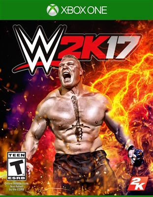 WWE 2K17 Xbox One 09/16 Blu-ray (Rental)