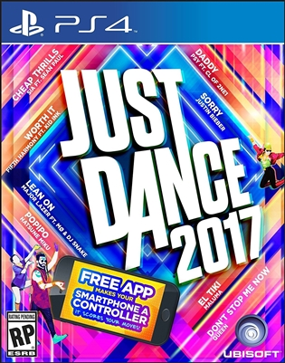 Just Dance 2017 PS4 09/16 Blu-ray (Rental)