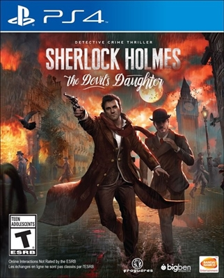 Sherlock Holmes: The Devil's Daughter PS4 Blu-ray (Rental)