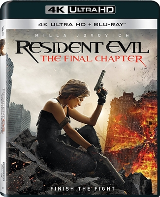 Resident Evil: The Final Chapter 4K UHD Blu-ray (Rental)