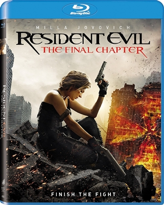 Resident Evil: The Final Chapter 04/17 Blu-ray (Rental)