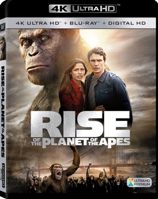 Rise of the Planet of the Apes 4K UHD Blu-ray (Rental)