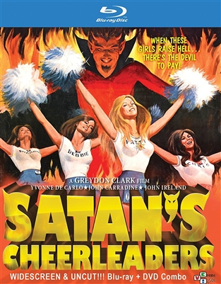 Satan's Cheerleaders 10/17 Blu-ray (Rental)
