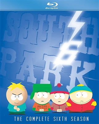South Park Season 6 Disc 1 Blu-ray (Rental)