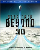 Star Trek Beyond 3D Blu-ray (Rental)