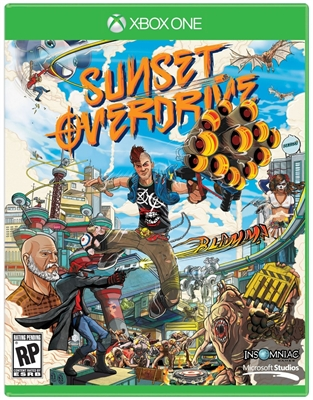 Sunset Overdrive Xbox One Blu-ray (Rental)
