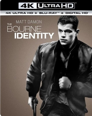 Bourne Identity 4K Blu-ray (Rental)