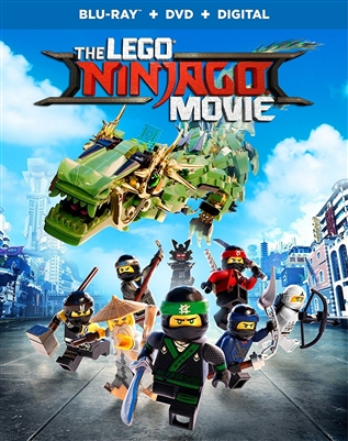 LEGO Ninjago Movie 11/17 Blu-ray (Rental)