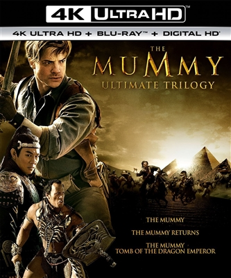 Mummy: Tomb of the Dragon Emperor 4K UHD Blu-ray (Rental)