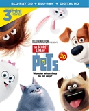 Secret Life of Pets 3D Blu-ray (Rental)