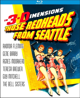 Those Redheads From Seattle 3D Blu-ray (Rental)