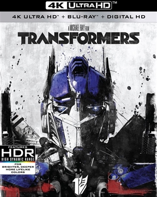 Transformers 4K UHD Blu-ray (Rental)