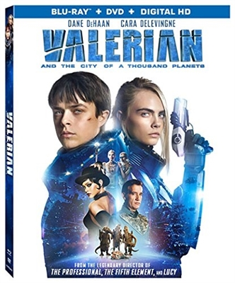 Valerian and the City of a Thousand Planets Blu-ray (Rental)