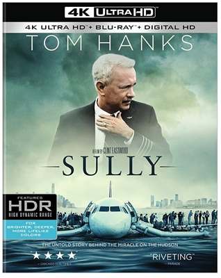 Sully 4K UHD Blu-ray (Rental)