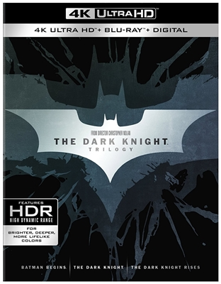 Batman Begins 4K UHD Blu-ray (Rental)
