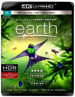 Earth: One Amazing Day 4K UHD Blu-ray (Rental)