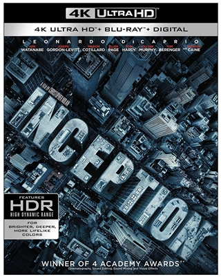 Inception 4K UHD Blu-ray (Rental)