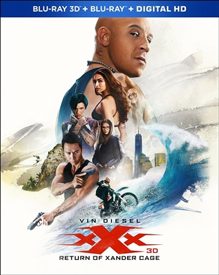 xXx: Return of Xander Cage 3D Blu-ray (Rental)